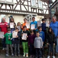 Vereinsmeisterschaft 2011 Schüler Gruppenbild 1