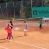 Tennis-Training der Kinder beim TSV Lindenfels
