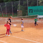 Tennis-Training der Kinder beim TSV Lindenfels