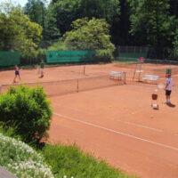 Tennisanlage geöffnet
